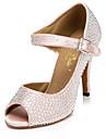 Chaussures de danse ( Rose ) - Non personnalisable - Talon aiguille - Flocage - Latine / Jazz / Salsa