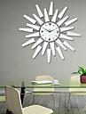 fashionabla kreativa moderna lyxiga vardagsrum väggklocka