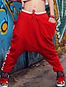 Pantaloni Da donna Harem Casual Di corda/Misto cotone Media elasticita