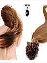 """extension de cheveux de keratine humaine pre-colle cheveux clou bresilienne vierge u Astuce cheveux 18 """"-28"""" 1g / s 100g / pc 1pc / lot en"""