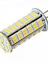 10W G4 LED-lampa T 126 SMD 3014 1020 lm Varmvit / Kallvit DC 12 / AC 12 / AC 24 / DC 24 V 1 st