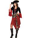 女性用 用- Halloween/カーニバル - 海賊 - ドレス/ベルト/ハット - 付属