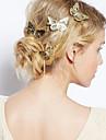 Femei Aliaj Diadema-Informal Exterior Clipuri de Păr 1 Bucată