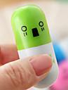 (10 st) av hög kvalitet mode infällbar kulspetspenna piller stil leksak