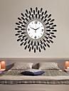 goutte d\'eau moderne mur motif de fer horloge
