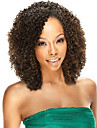 nouvelle 10-30inch de mode 100% bresilienne de cheveux afro humaine crepus boucles couleur naturelle perruque avant de lacet