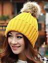 Women Candy Color Hat Edge Earmuffs Hat