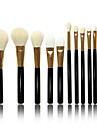 12 Makeup Brushes Set Goat Hair Others