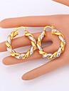 Set bijuterii Placat cu platină Placat Auriu Două-Tonuri Culoare ecran Seturi de bijuterii Nuntă Petrecere Casual 1set Coliere Σκουλαρίκια