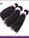 "3Pcs/Lot 10""-28"" Brazilian Virgin Hair Natural Black Color Kinky Curly Unprocessed Human Hair Weaves Dove Hair Products"
