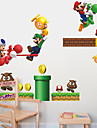 stickers muraux mur style decalcomanies mario pvc stickers muraux