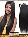 """brasilianska jungfru hår rakt brasilianska rakt hår 3st 8 """"-30"""" rakt brasilianska jungfru hår"""
