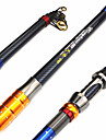 Telespin Rod / Fishing Rod Telespin Rod Aluminium / Carbon 270 MSea Fishing / Spinning / Freshwater Fishing / General Fishing / Trolling