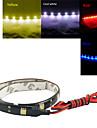 0,3 12LED vit / röd / blå / gul flexibla LED-ljus remsor DC12 v