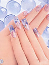 3 Manucure De oration strass Perles Maquillage cosmetique Nail Art Design