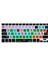 XSKN logic pro x 10 raccourci clavier couvercle en silicone pour un MacBook Pro retine de l\' 13 \'\' 15 \'\' 17 \'\'