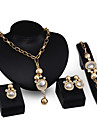Jewelry Set Women\'s Anniversary / Wedding / Engagement / Birthday / Gift / Party / Daily / Special Occasion Jewelry SetsAlloy /