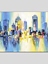 oljemålning modern abstrakt, duk material med sträckt ram redo att hänga storlek: 60 * 90 cm.