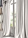 twopages premie 100% naturligt lin olja gnuggade brons fullföljande genomför gardin draperi en panel