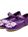 Fille-Mariage Habille Decontracte Soiree & Evenement-Rose Violet-Talon Plat-Confort Flower Girl Chaussures-Ballerines-Similicuir