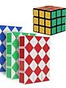 Cube de vitesse lisse 3*3*3 / Tableau magique Vitesse Cubes magiques Noir ABS