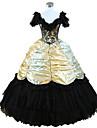 steampunk®civil krig sydlig belle balklänning klänning halloween festklänning