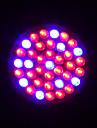 hry® 2w e27 38led 100lm 28red + 10blue växt växa glödlampa trädgård hydroponiska lampa (AC220V)