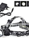 Belysning Strålkastare Straps LED 3000 Lumen 1 Läge Cree XM-L T6 18650 LaddningsbarCamping/Vandring/Grottkrypning / Cykling / Jakt /