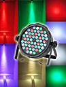 LT - 2 RGBW DMX 512, auto-propulse, active par la voix 54 × 3W LED promettre lumiere de la scene de couleurs melangees