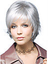 gris court synthetique extensions de cheveux perruque individuation