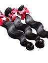 Tissages de cheveux humains Cheveux Bresiliens Ondulation naturelle 12 mois 3 Pieces tissages de cheveux