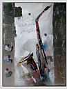 Peint a la main FantaisieModern Un Panneau Toile Peinture a l\'huile Hang-peint For Decoration d\'interieur