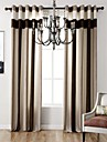 One Panel Bedroom Living Room Study Room Bedroom Environmental Polyester Chenille Curtain