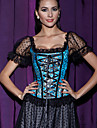 Women Overbust Corset , Lace Lace Up