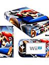 B-Skin-dekal hud sticker (högblank beläggning) för Nintendo Wii U-konsol + styranordning (diverse mönster)