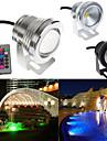 10w Underwater LED RGB de lumiere chaudes fraiches piscine de l\'etang blanc lampes spot de lavage 12v