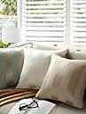 Coton / Polyester Coussin avec rembourrage , RayeModerne/Contemporain / Traditionnel / Rustique / Casual / Traditionnel/Classique /