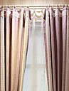 (Two Panel)Modern Purple Solid  Blackout Curtain(Sheer Not Included)