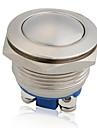 12v vattentät metall tryckknapp momentant på off horn switch bil