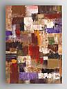Peint a la main AbstraitModern Un Panneau Toile Peinture a l\'huile Hang-peint For Decoration d\'interieur