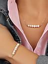 Bijoux Colliers decoratifs / Bracelet Quotidien / Decontracte Alliage 1set Femme / Hommes / Couple Cadeaux de mariage