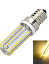 6W E14 LED-lampa B 72 SMD 3014 400-500 lm Varmvit / Kallvit Dekorativ AC 220-240 V 1 st