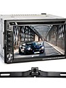 "6.2"" Double Din In-Dash Touch Screen Car DVD Player GPS 4G Bluetooth Radio FM AM"