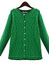 Femei Vintage / Casual / Party / Business / Plus Size Pijamale Manșon Lung Cardigan Altele Mediu