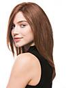 fashion girl en cheveux longs perruque brune