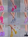 Princesse Chaussures Pour Poupee Barbie Chaussures Pour Fille de Jouets DIY