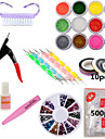 Vackert / Punk - Finger - Dekoration kit - av Andra - 1set - styck