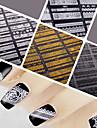 12 Autocollant d\'art de clou Autocollant dentelle Bijoux pour ongles Autocollants 3D pour ongles Punk Maquillage cosmetiqueNail Art