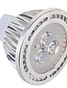 5W GU5.3(MR16) LED-spotlights MR16 3 SMD 450 lm Varmvit / Kallvit Dekorativ AC 85-265 / AC 12 V 1 st