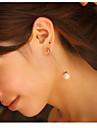 Cercei Picătură Imitație de Perle Crem Bijuterii Pentru 2pcs